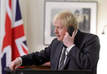 Fotos: Twitter Boris Johnson