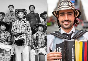 Fotos: Facebook Los Gaiteros de San Jacinto y Gregorio Big Band