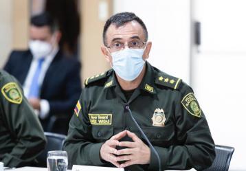 Foto: Twitter general Jorge Luis Vargas