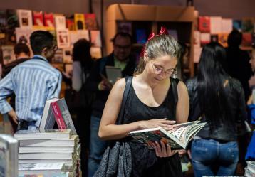 Foto: Feria del Libro de Bogotá.