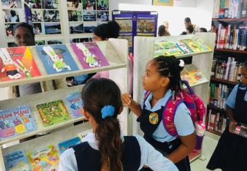 Semana del Libro y la Literatura en en Providencia y Santa Catalina. Foto: Eduardo Otálora.