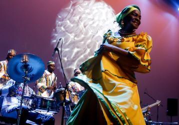 Festival Petronio Álvarez, el evento de música negra más importante de Latinoamérica. Foto: Colprensa. Agosto 2019.