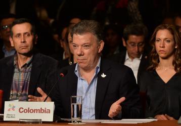 El Presidente Juan Manuel Santos. Foto: Juan Pablo Bello - Presidencia de la República
