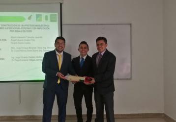 Foto: Alberth Calvache, Ricardo Bueno y Ángel Oviedo.