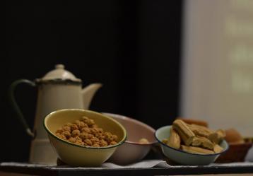 Colaciones y tiraos, entre las recetas dulces del libro Panela, una tradición, que fue presentado el años pasado en la Feria del Libro de Manizales. Foto cortesía: Feria del libro.