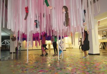 H.H Hermoso horror. Piñatas. 2016. Artista: Paulo Licona. Foto: Laura Quiceno.