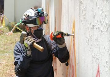 Foto cortesía: Dirección de gestión de riesgo de Pasto y bomberos.