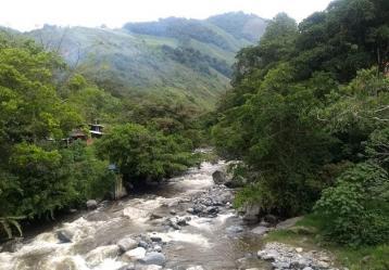 Según el POMCA del río Amoyá, habrían riesgo en algunas de las veredas aledañas a la afluente.   Foto: IGAC.
