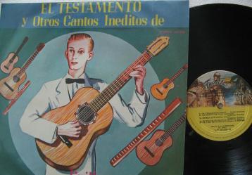 Portada de disco de Guillermo Buitrago. Foto: Video YouTube - Guillermo Buitrago - La matica de Yuca.