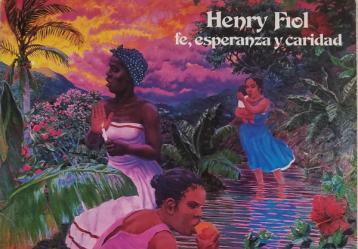 Portada del disco 'Fe, esperanza y caridad' de Henry Fiol.