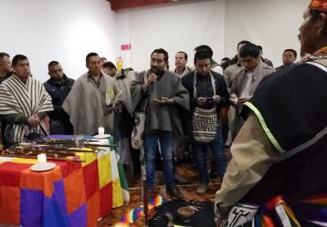 Indígenas Quillacingas en Nariño. Foto: Natalia Cabrera.