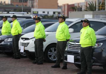 Foto: Cortesía Secretaría de Seguridad y Policía Metropolitana de Bogotá.