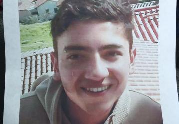 Víctor Andrés Tobaría, joven de 19 años, desaparecido desde el pasado jueves 27 de abril.