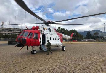 Helicóptero de la Operación Jaque /Foto: www.aeroermo.com
