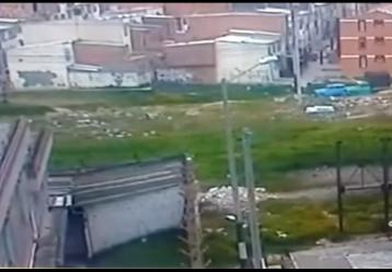 Imagen del vídeo publicado por la Policía Nacional. Foto tomada de Youtube