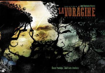 Foto: Adaptación a novela gráfica de 'La Vorágine'.