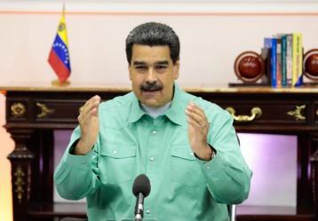 Foto: Twitter Nicolás Maduro