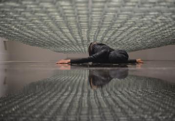 Línea de Vida. Centro De Arte Contemporáneo de Quito. LARA 2017 Performance de larga duración
