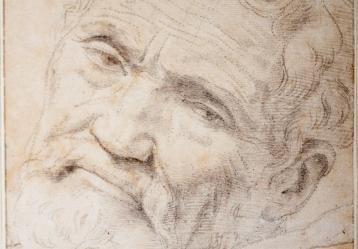 Daniele da Volterra, Retrato de Miguel Ángel, 1551-1552.