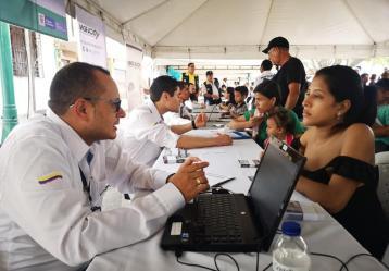 Foto: Tomada de Facebook Migración Colombia.