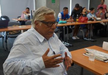 Miguel Ángel Bastenier. Foto: C.C. Wikipedia.