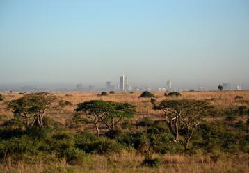Imagen de la ciudad de Nairobi en Kenya