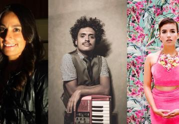 Luisa Piñeros, Juancho Valencia y Edna Arcila de Pedrina y Río nos recomiendan estos sonidos colombianos