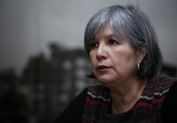 Patricia Linares Prieto, presidenta de la Jurisdicción Especial para la Paz, que empieza a operar este 15 de marzo. Foto: Colprensa - Marzo 2018.