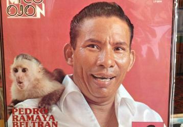 Foto: Disco 'El Mico Ojón' de Pedro Ramayá y su Cumbia Moderna.