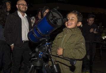 Planetario Nocturno de años anteriores / Foto: cortesía Planetario de Bogotá