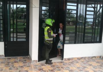Foto: Twitter Policía de Colombia.