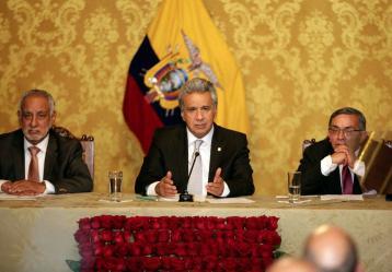 Foto: Cuenta oficial de Twitter de Lenín Moreno, presidente de Ecuador.