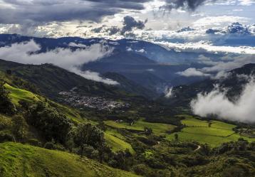 San Lorenzo está ubicado a 66 kilómetros de Pasto y cuenta con una extensión de 249 km². Foto: Fabio Martínez.