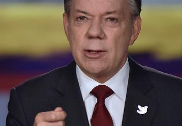 Presidente Juan Manuel Santos. Foto: Colprensa.
