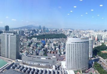 Imagen de la ciudad de Seúl, Corea
