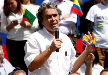 Sergio Fajardo, candidato presidencial. Foto: Colprensa. Marzo 2018.