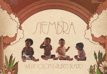 Icónica portada del disco 'Siembra' de Rubén Blabes y Willie Colón.