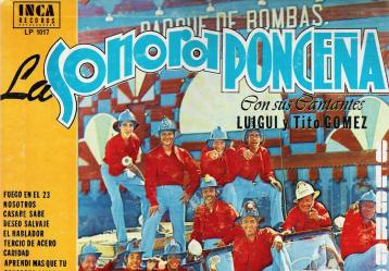 Portada del disco 'Hay fuego en el 23', que lleva el mismo nombre del clásico de la Sonora Ponceña.
