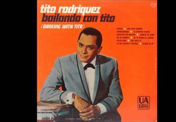 Portada del disco 'Bailando con TIto' del salsero Tito Rodríguez.