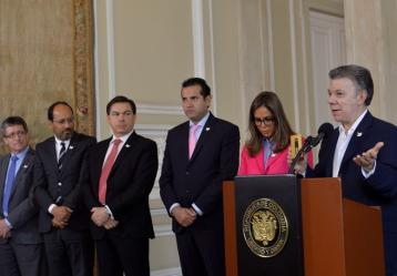 Foto: Presidencia de la República - Efraín Herrera