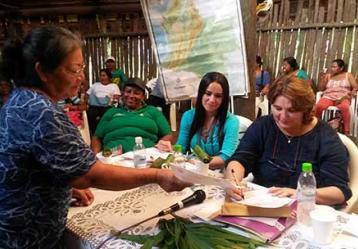 Foto: Ministra de Cultura con pueblos indígenas del Amazonas - Mincultura