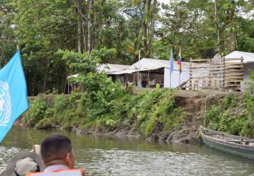 Foto: Misión de Verificación de la ONU en Colombia