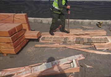 Foto: Dirección Antinarcóticos de la Policía Nacional.