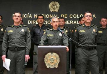 Foto: Twitter General Óscar Atehortúa