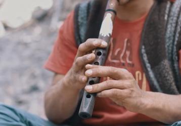 Foto: imagen serie documental 'Músicas indígenas, diversidad de diálogos'.