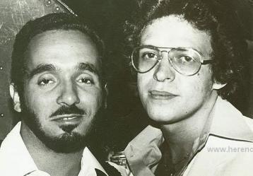 Willie Colón y Héctor Lavoe. Foto: Radio rumba fm.