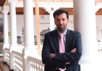 Yann Basset, doctor en Ciencia Política, investigador, docente y director del Observatorio de Procesos Electorales (OPE) de la Universidad del Rosario. Foto: Esteban Herrera