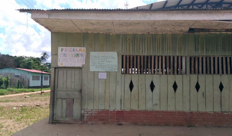 Aquí funciona el programa de Cero a Siempre de la Presidencia de la República. Foto: Mauricio Orjuela.