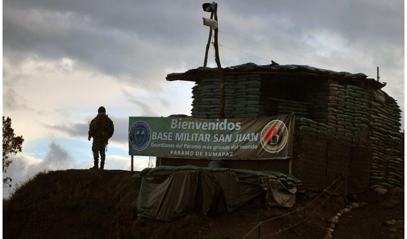 Base militar a menos de un kilómetro de San Juan