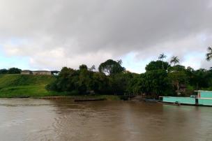 Cae la tarde del viernes 26 de mayo en Peñas Blancas. Foto: Mauricio Orjuela.